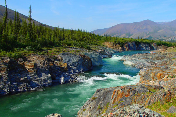 Firth River Rafting in Canada's Yukon Territory