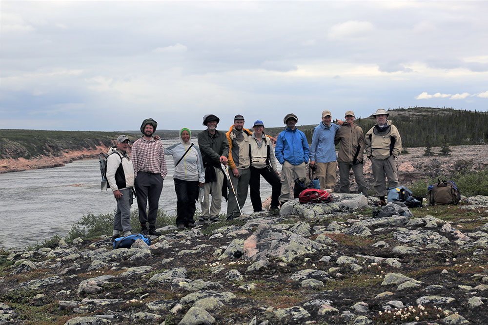 Guided Canoe Expeditions on the Thelon River in Canada's Northwest Territories.