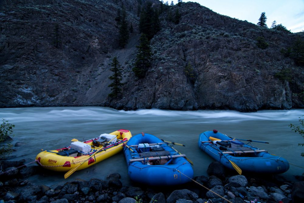 Rafting the Taseko, Chilko, Chilcotin Rivers