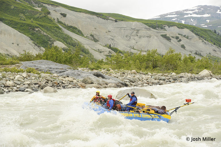 Rafting the Alsek River