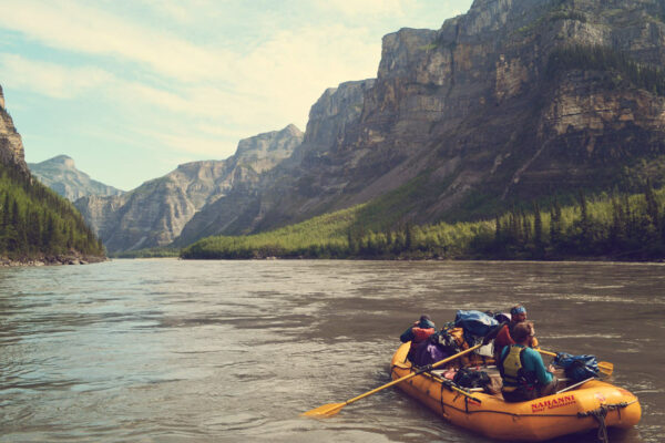 Rafting the Nahanni River