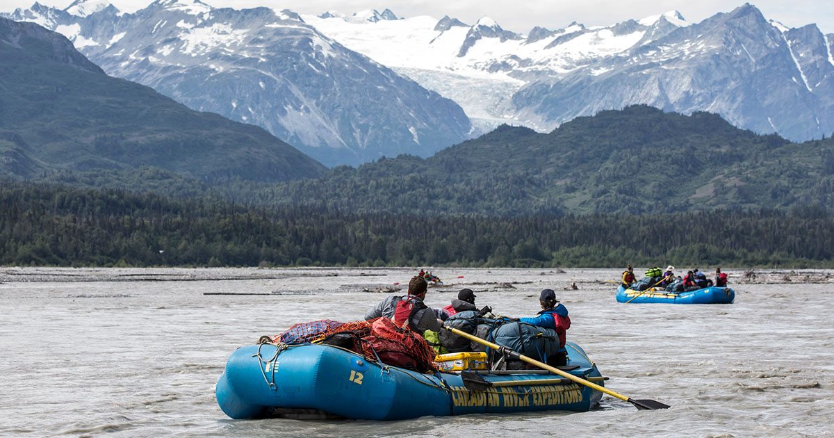 Nahanni River Adventures & Canadian River Expeditions -Raft