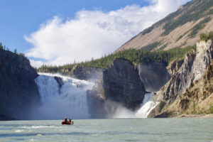 Nahanni River Virginia Falls Paddlers