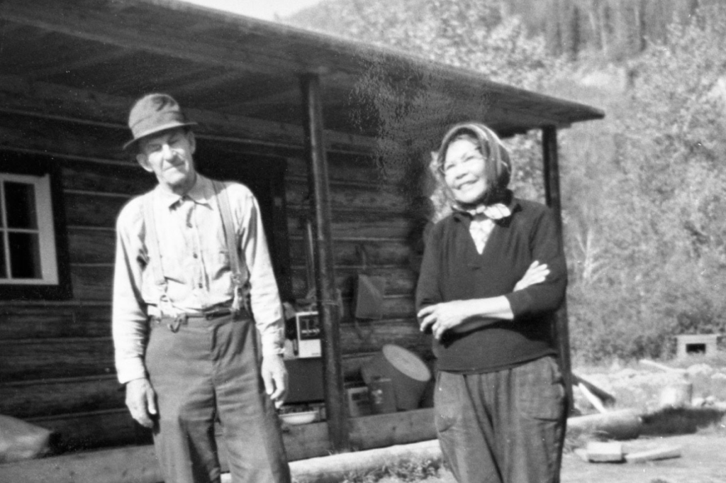 Mary and Gus Kraus on the Nahanni River