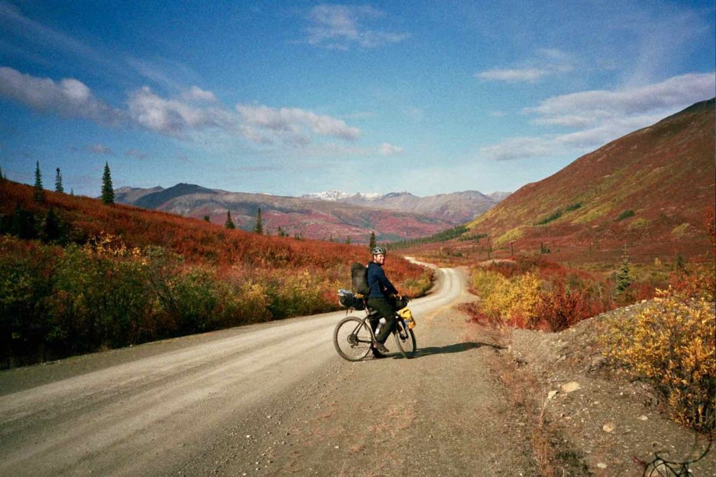 Cycling NWT backroads