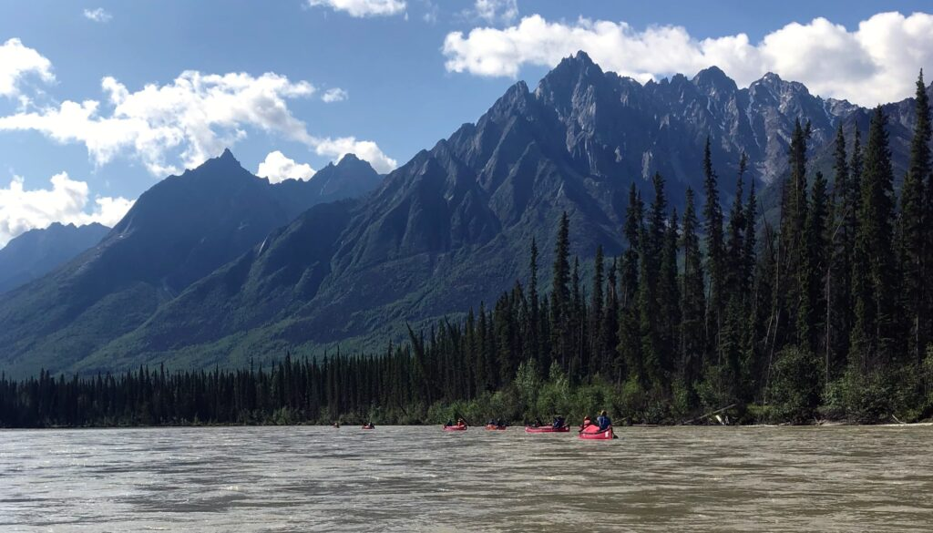 Canoeing the Broken Skull River