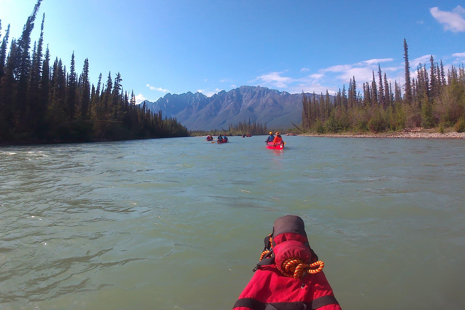 Canoeing the Broken Skull River