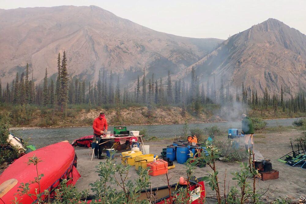 Camping on the Broken Skull River