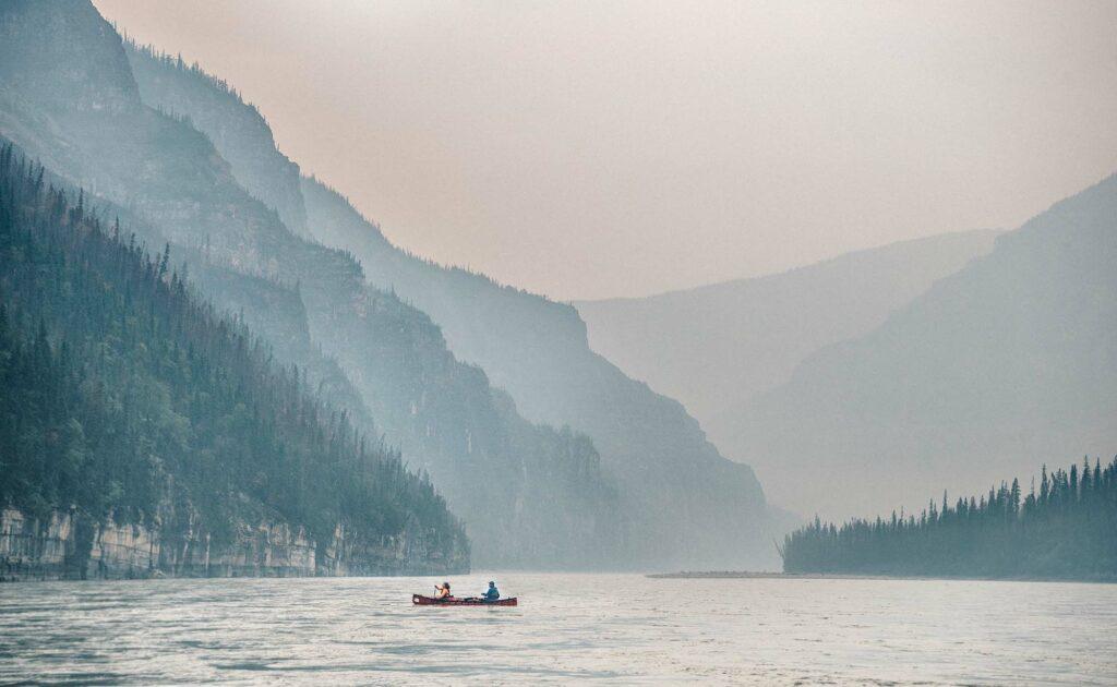 Nahanni-River-Canyons-Canoe