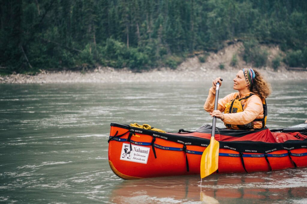 Nahanni, NWT, Canoe, Nahanni Park, Angela Gzowski